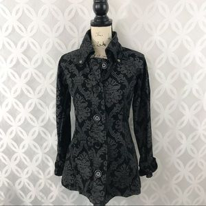 Wet Seal Jacquard Jacket